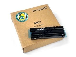 M.2 2280 規格、支援 PS5 !! be quiet! MC1 M.2 SSD 散熱器